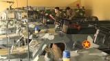 Đại đội thiết giáp (Phòng tham mưu, Bộ Chỉ huy Quân sự tỉnh): Huấn luyện nghiêm, sẵn sàng chiến đấu cao