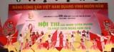Khai mạc hội thi các nhóm Tuyên truyền ca khúc cách mạng tỉnh Bình Dương