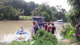 Tìm thấy 2 nạn nhân trong vụ lật sà lan chở cát trên sông Đồng Nai