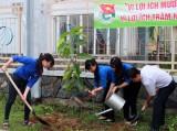 """Thị đoàn Thuận An trồng 200 cây Dầu hưởng ứng """"Tết trồng cây đời đời nhớ ơn Bác Hồ"""""""