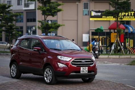 Ford Ecosport - Những đổi thay đáng giá