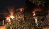 Hỏa hoạn thiêu rụi nhà xưởng rộng 1000m2