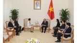 越南政府总理阮春福会见全球环境基金首席执行官石井菜穗子