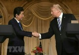 Thủ tướng Nhật Bản Shinzo Abe rời Tokyo, lên đường thăm Mỹ