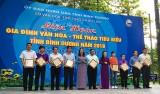 Liên hoan gia đình  Văn hóa - Thể thao tiêu biểu tỉnh Bình Dương: TX.Thuận An đạt giải nhất toàn đoàn