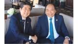 阮春福总理同G7领导举行会晤