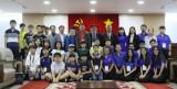 Đoàn thanh thiếu niên thành phố Daejeon đến chào xã giao lãnh đạo tỉnh