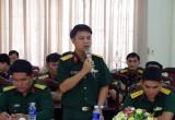 """Bộ Chỉ huy Quân sự tỉnh: Tổ chức tọa đàm """"Tuổi trẻ lực lượng vũ trang tỉnh kiên định, trí tuệ, xung kích, quyết thắng"""""""