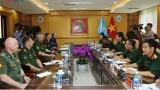 俄罗斯与越南加强维和领域的配合