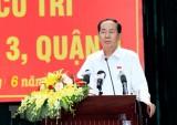Chủ tịch nước trả lời cử tri về Luật Đặc khu, Luật An ninh mạng
