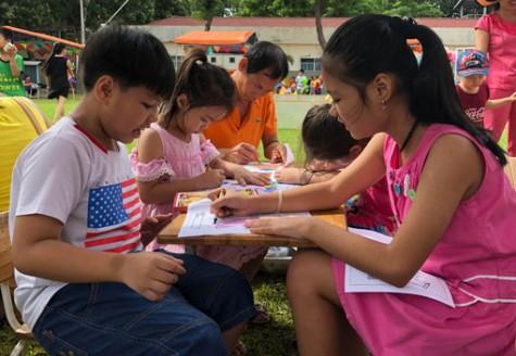 Công ty TNHH Shyang Hung Chen: Tổ chức chương trình Ngày hội tuổi thơ