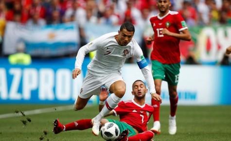 Bồ Đào Nha - MaRốc 1-0: MaRốc về nước