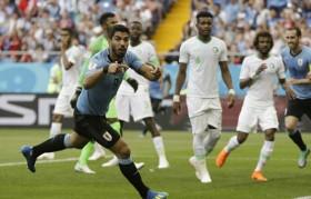 Suarez đưa Uruguay vào vòng 1/8