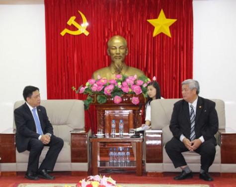 Lãnh đạo tỉnh tiếp Đại sứ Philippin tại Việt Nam