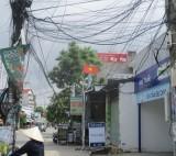 """Cần sớm khắc phục """"mạng nhện"""" cáp viễn thông trên đường"""