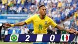 Brazil 2-0 Mexico: Đêm diễn của Neymar