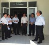 Lãnh đạo UBND tỉnh kiểm tra 2 công trình Bệnh viện Lao phổi và Tâm thần