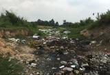 Đổ và đốt rác thải ven đường: Cần chấn chỉnh triệt để!
