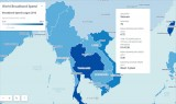 Tốc độ Internet trung bình của Việt Nam đứng thứ 75 thế giới