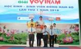 ĐH Thủ Dầu Một đạt giải Nhất toàn đoàn Giải vô địch Vovinam học sinh – sinh viên Đông Nam Bộ lần thứ I