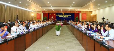 第九届平阳省人民议会第七次会议闭幕