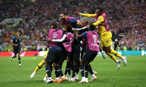 2018年俄罗斯世界杯决赛:法国队4-2击败克罗地亚队 夺得2018年世界杯冠军