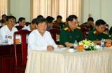 Đảng ủy – Bộ CHQS tỉnh: Tổ chức hội nghị Quân chính 6 tháng đầu năm 2018