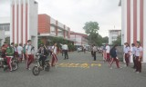 Nhiều giải pháp bảo đảm an toàn giao thông trước cổng trường