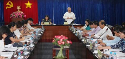 Bình Dương thực hiện tốt công tác Vì sự tiến bộ phụ nữ và chính sách đối với lao động nữ