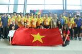 Olympic Việt Nam đặt chân đến Indonesia, sẵn sàng chinh phục ASIAD