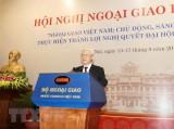 Tổng Bí thư Nguyễn Phú Trọng dự khai mạc Hội nghị Ngoại giao lần 30