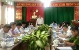Đoàn công tác Tỉnh ủy giám sát việc thực hiện Chỉ thị 05 tại Thị ủy Dĩ An