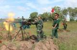 Lực lượng vũ trang tỉnh: Nâng cao chất lượng huấn luyện chiến đấu