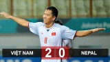 Olympic Việt Nam 2-0 Olympic Nepal: Việt Nam vào vòng 1/8