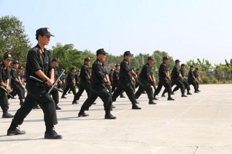 Lực lượng Cảnh sát Cơ động Bình Dương: Sẵn sàng, chủ động tác chiến trong mọi tình huống