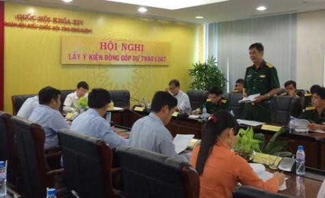Hội nghị lấy ý kiến đóng góp Dự thảo Luật Cảnh sát biển Việt Nam