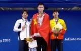 ASIAD 2018: Nguyễn Huy Hoàng đoạt HCĐ 800m bơi tự do nam