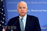 Đại sứ quán Hoa Kỳ mở sổ chia buồn với Thượng nghị sỹ John McCain