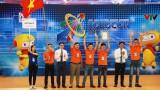 越南2号队夺得2018年亚太大学生机器人大赛冠军