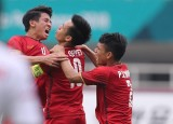 Việt Nam - UAE 1-1, Đội Việt Nam thua 3-4 ở loạt sút luân lưu