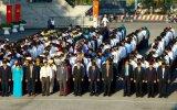 平阳省领导在省烈士陵园敬香