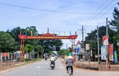 Bàu Bàng: Phấn đấu đạt huyện nông thôn mới vào năm 2019