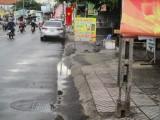 Trụ điện bị hư hỏng: Nguy hiểm chực chờ!