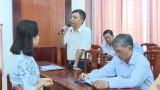Phòng Tư pháp TX.Thuận An: Tập huấn kiến thức pháp luật, kỹ năng hòa giải cơ sở