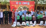300 gifts offered to unprivileged people in Cambodia