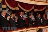 越南国家主席陈大光和夫人出席越日建交45周年音乐演奏会