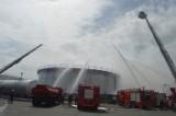 Tổng kho xăng dầu Chánh Mỹ: Diễn tập ứng phó sự cố môi trường do cháy, nổ