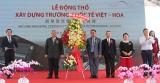 Khởi công xây dựng trường quốc tế Việt Hoa