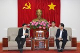 Ông Trần Thanh Liêm, Phó Chủ tịch UBND tỉnh: Lãnh đạo tỉnh ủng hộ ý tưởng đầu tư năng lượng tái tạo mặt trời của Tập đoàn Sembcorp