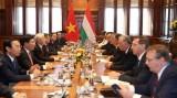 越共中央总书记阮富仲同匈牙利总理维克托•欧尔班举行会谈